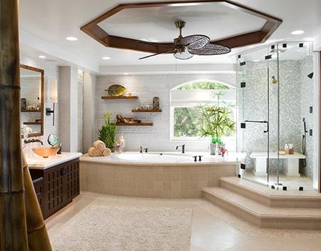 Steps Turn Your Bathroom into a Spa